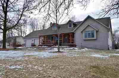 Shawano County Single Family Home Active-Offer No Bump: N2809 Maple