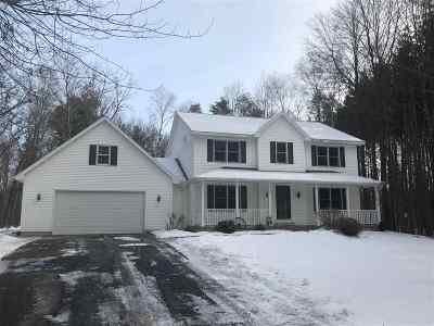 Marinette County Single Family Home Active-No Offer: N1900 Woodridge