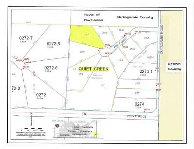 Kaukauna Residential Lots & Land Active-No Offer: Erv