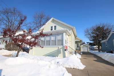 Oshkosh Single Family Home Active-No Offer: 1210 Harney