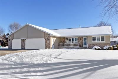 Greenville Single Family Home Active-Offer No Bump: W6757 Greenridge