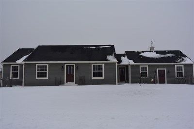 Greenville Single Family Home Active-Offer No Bump: N1758 Schroeder Farm