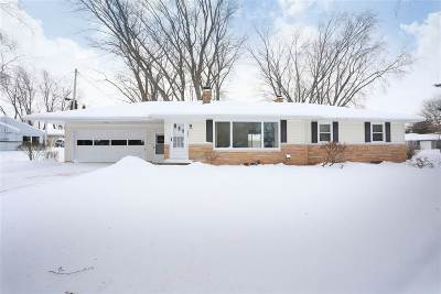 Appleton Single Family Home Active-Offer No Bump: 1843 Palisades