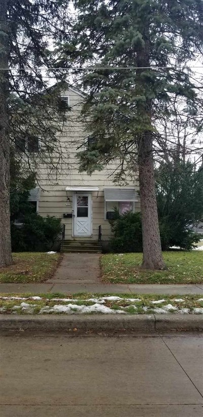 Oshkosh Multi Family Home Active-No Offer: 1237 Broad