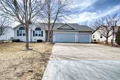 Menasha Single Family Home Active-No Offer: N8961 Willow
