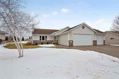 Menasha Single Family Home Active-Offer No Bump: 1021 Manitoba