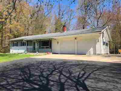 Shawano Single Family Home Active-No Offer: W6740 Lake