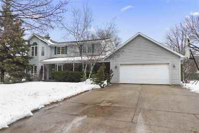 Appleton Single Family Home Active-No Offer: 3608 Winterset
