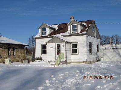 Menasha Single Family Home Active-Offer No Bump: 1292 Plank