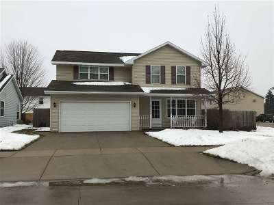 Oshkosh Single Family Home Active-Offer No Bump: 2720 Clover