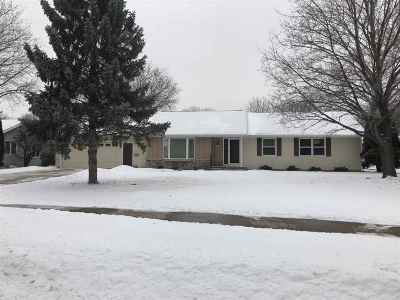 Oshkosh Single Family Home Active-No Offer: 1720 Villa Park