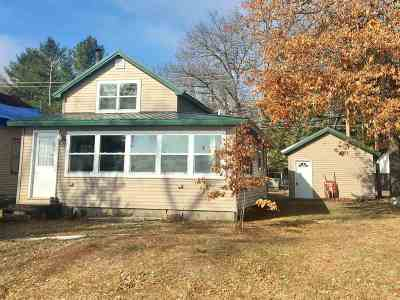 Shawano Single Family Home Active-No Offer: N5932 Lake