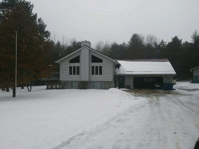 Shawano County Single Family Home Active-No Offer: N2705 Round Lake