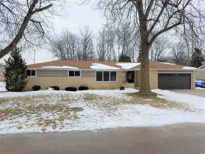 Menasha Single Family Home Active-Offer No Bump: 1397 Fatima