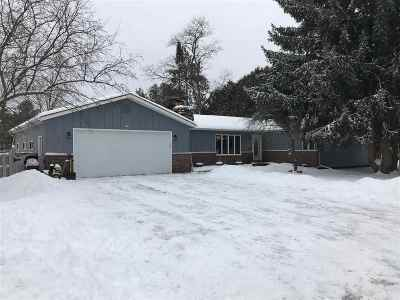 Crivitz Single Family Home Active-No Offer: 711 Fritzie