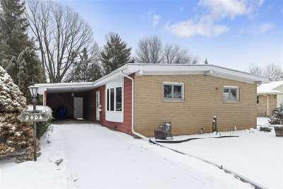 Appleton Single Family Home Active-Offer No Bump: 2406 S Greenview