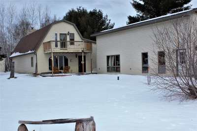 Shawano Single Family Home Active-Offer No Bump: W7218 Campfire