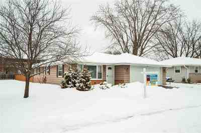 Neenah Single Family Home Active-Offer No Bump: 141 Stanley