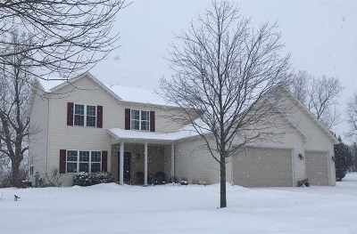 Appleton Single Family Home Active-Offer No Bump: 2838 W Warner Estates