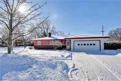 De Pere Single Family Home Active-Offer No Bump: 1438 Cook