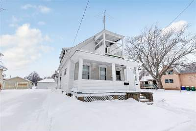 Green Bay Single Family Home Active-No Offer: 1312 Doty