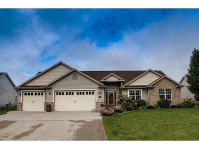 Neenah Single Family Home Active-Offer No Bump-Show: 1531 Kingswood