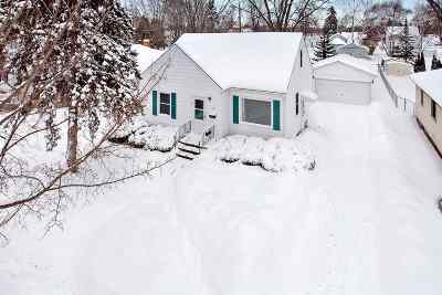 Green Bay Single Family Home Active-Offer No Bump: 1187 Bond