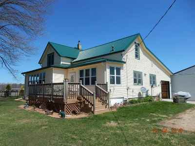 Shawano Single Family Home Active-No Offer: N4458 Angle