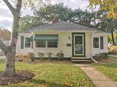 Green Bay Single Family Home Active-Offer No Bump: 825 Ethel