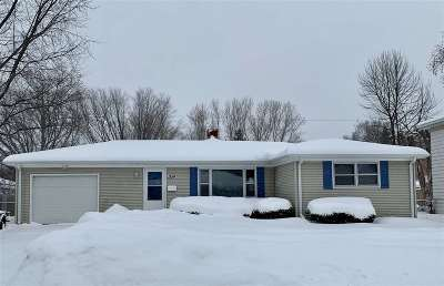 Green Bay Single Family Home Active-Offer No Bump-Show: 1554 Charles