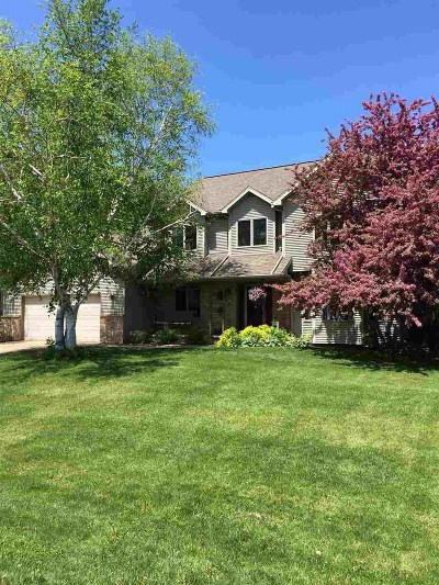 Oshkosh Single Family Home Active-No Offer: 3490 Charlie Anna