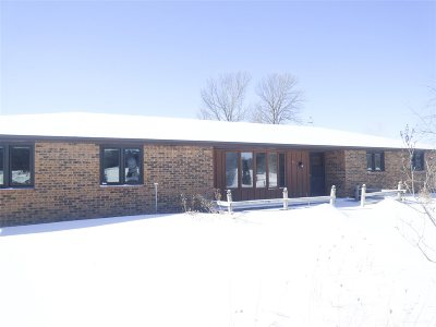Pulaski Single Family Home Active-No Offer: 4259 Hwy C