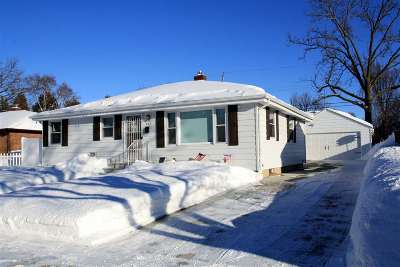 Green Bay Single Family Home Active-Offer No Bump: 832 N Platten