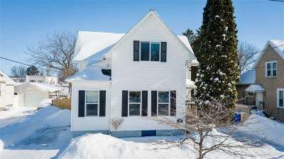 Appleton Single Family Home Active-Offer No Bump: 138 N Locust