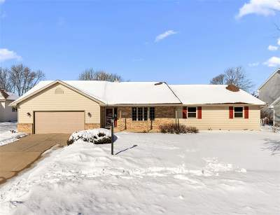 Appleton Single Family Home Active-Offer No Bump: W5966 Blazing Star