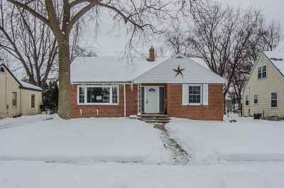 Appleton Single Family Home Active-No Offer: 705 N Outagamie