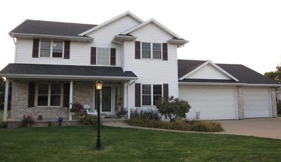 Appleton Single Family Home Active-No Offer: N9325 Snapdragon