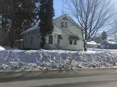 Shawano Single Family Home Active-No Offer: 444 S Franklin