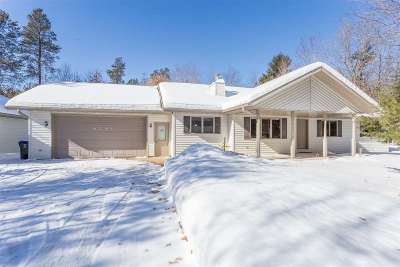 Shawano Single Family Home Active-No Offer: N6369 Old Lake