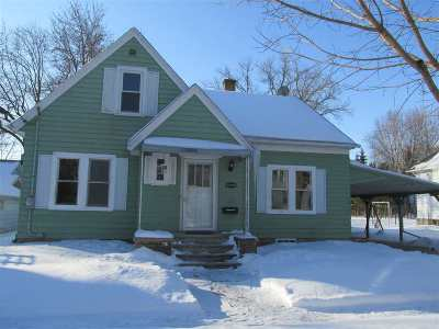 Appleton Single Family Home Active-No Offer: 513 W Commercial