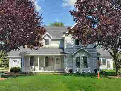 Appleton Single Family Home Active-No Offer: N9659 Shepherd