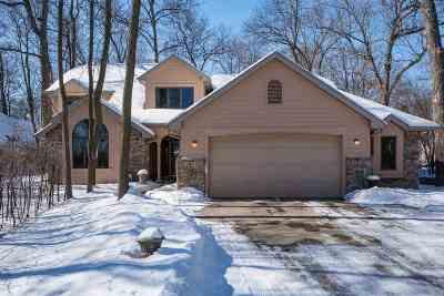 Neenah Single Family Home Active-No Offer: 1044 N Lake