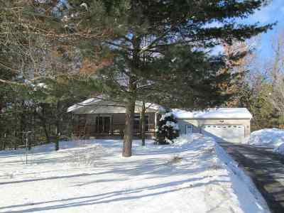 Shawano County Single Family Home Active-Offer No Bump: W5882 S Oak Park