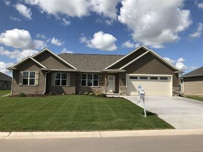 Appleton Single Family Home Active-No Offer: 3509 Golden Hill