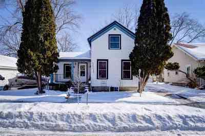 Appleton Single Family Home Active-No Offer: 214 N Fair
