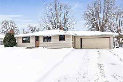 Appleton Single Family Home Active-Offer No Bump: N9625 Otte