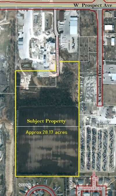 Residential Lots & Land Active-No Offer: W Prospect