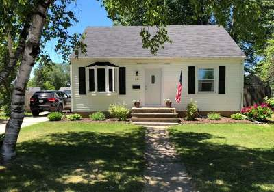 Neenah Single Family Home Active-Offer No Bump: 833 Zemlock