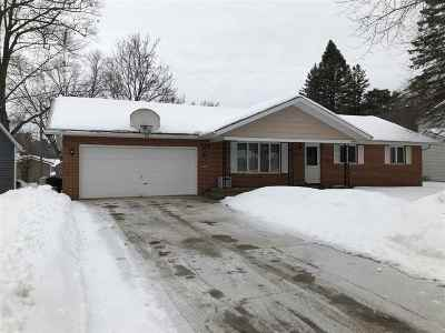 Shawano County Single Family Home Active-Offer No Bump-Show: 127 N Humphrey