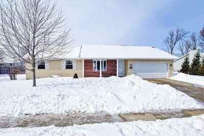 De Pere Single Family Home Active-Offer No Bump: 1216 S 9th